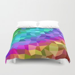 Multicolor mosaic tiles Duvet Cover