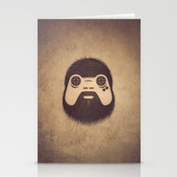 playstation Stationery Cards featuring The Gamer by powerpig