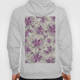 POINSETTIA - FLOWER OF THE HOLY NIGHT 2 Hoody