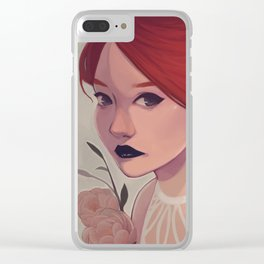 Depression Clear iPhone Case