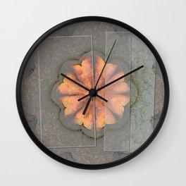 Campanini Fantasy Flower  ID:16165-003519-21361 Wall Clock