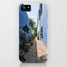 Lima Alley iPhone Case