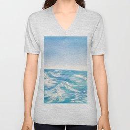Gentle Waves Unisex V-Neck
