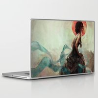 witchcraft Laptop & iPad Skins featuring Witchcraft by Camila Vielmond