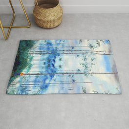 Kidnapped .....Alone in this stunning capsulle Rug