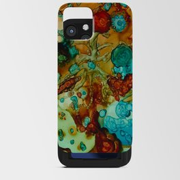 flora beginnings Abstract iPhone Card Case