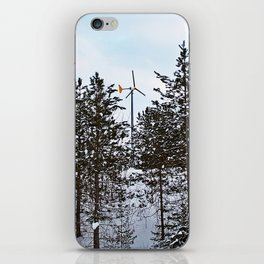 Windmill Through the Trees iPhone Skin