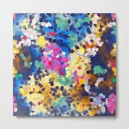 Colorful circles Metal Print