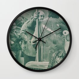 subway scare Wall Clock