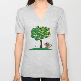 Cat Tree Unisex V-Neck