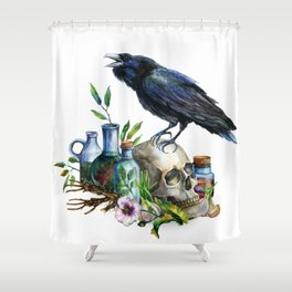 Raven Magick Shower Curtain