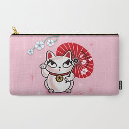 Kyoto Kitty Carry-All Pouch