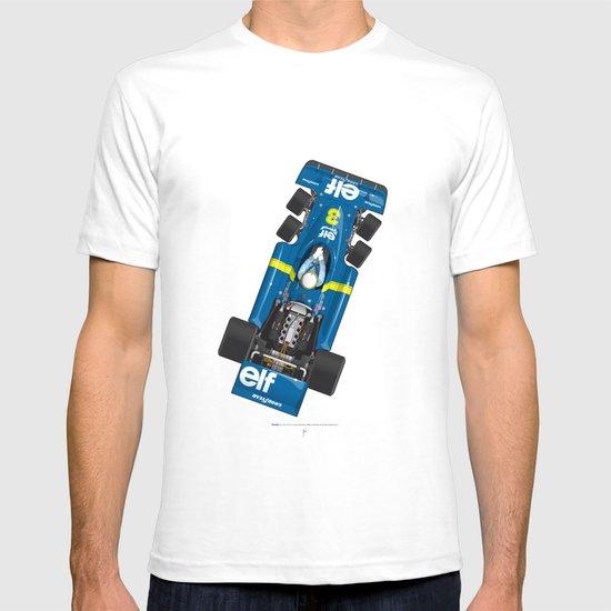 Outline Series N.º3, Jody Scheckter, Tyrrell-Ford 1976 T-shirt