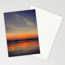 Colorful evening Stationery Cards