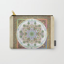 Compassion Mantra Rainbow Mandala Carry-All Pouch