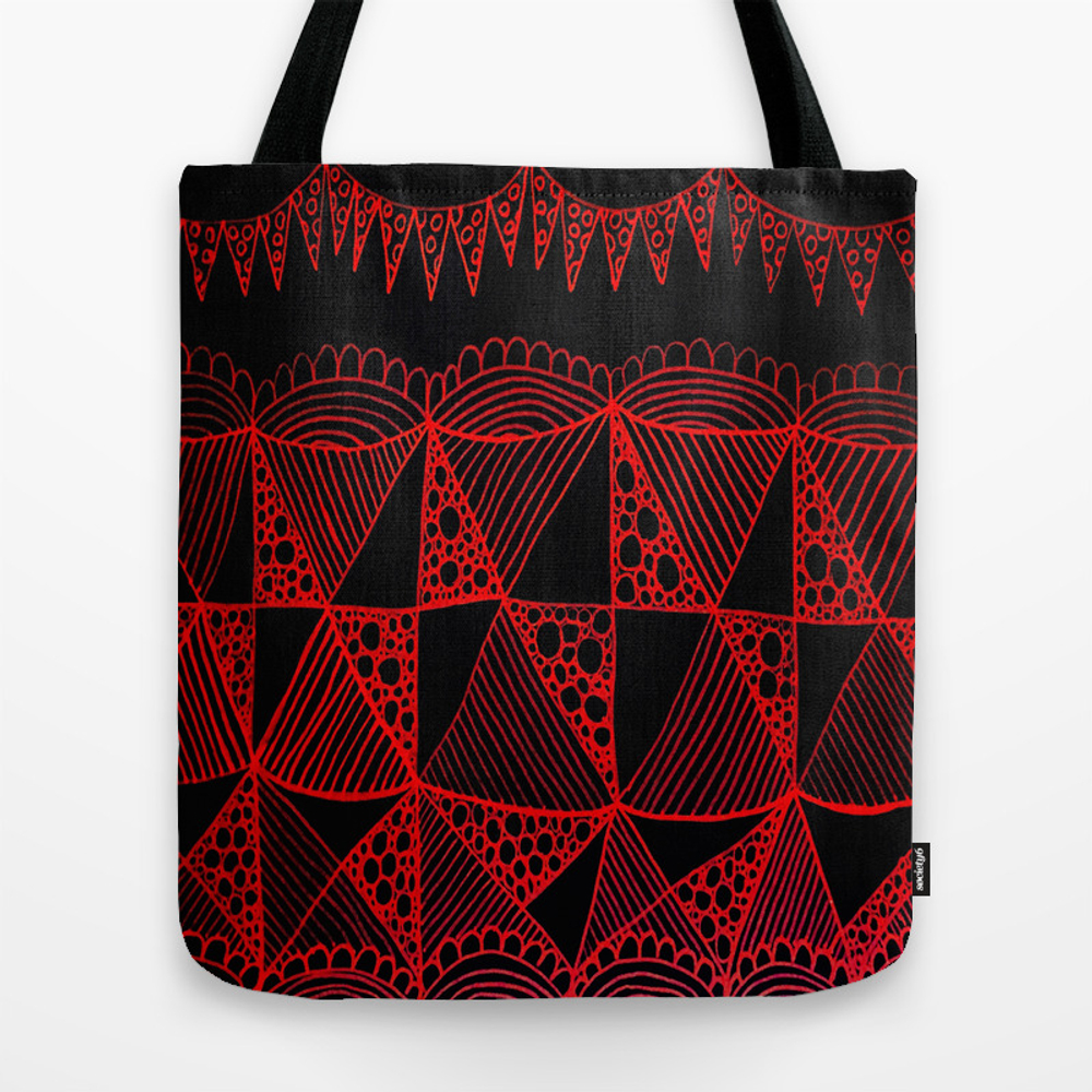 Black Jack Tote Bag by Kerrieabello TBG3471889