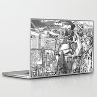 usa Laptop & iPad Skins featuring USA by Bekim ART