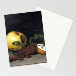 Raphaelle Peale Still Life with Cake Stationery Cards