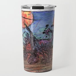 Searching The Desert for Atlantis Travel Mug