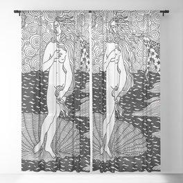 Venus - Botticelli Sheer Curtain