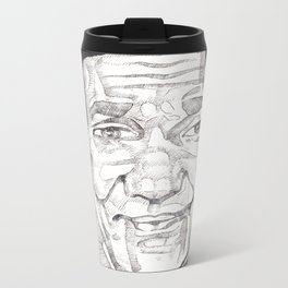 Bill Cosby in a Toulouse Lautrec Sweater by Aaron Bir Metal Travel Mug