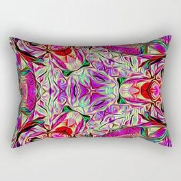 Metatronic Light Design Rectangular Pillow
