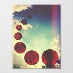 Travel the Skies Canvas Print