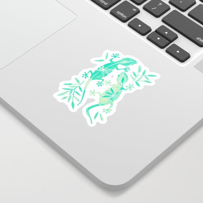 Geckos – Mint Palette Sticker