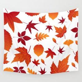 Fallen leaves Wall Tapestry