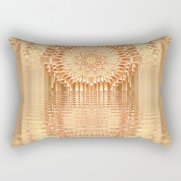 Flying Sphere Rectangular Pillow