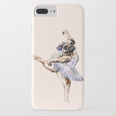 Pug Ballerina in Dog Ballet | Swan Lake  iPhone 7 Plus Slim Case