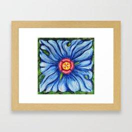 Beaux Arts Blue  Framed Art Print