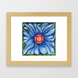 Beaux Arts Blue  Framed Art Print