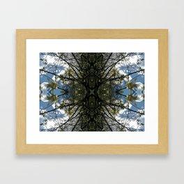 Vitruvian Tree Framed Art Print