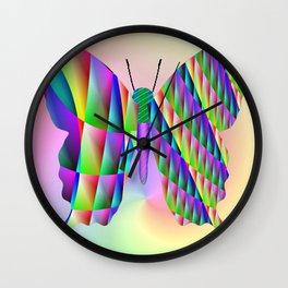 Butterfly by avantgarde Wall Clock