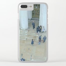 Busy Day in Court Clear iPhone Case