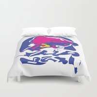 taco Duvet Covers featuring Taco Smudge by Goods