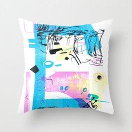 Biomathématiques (Paris 7) Throw Pillow
