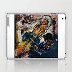 Vintage Sci-Fi (Science Fiction) Illustration Laptop & iPad Skin