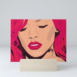Rihanna - Portrait Mini Art Print