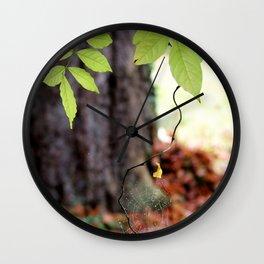 Bijoux d'automne. Wall Clock