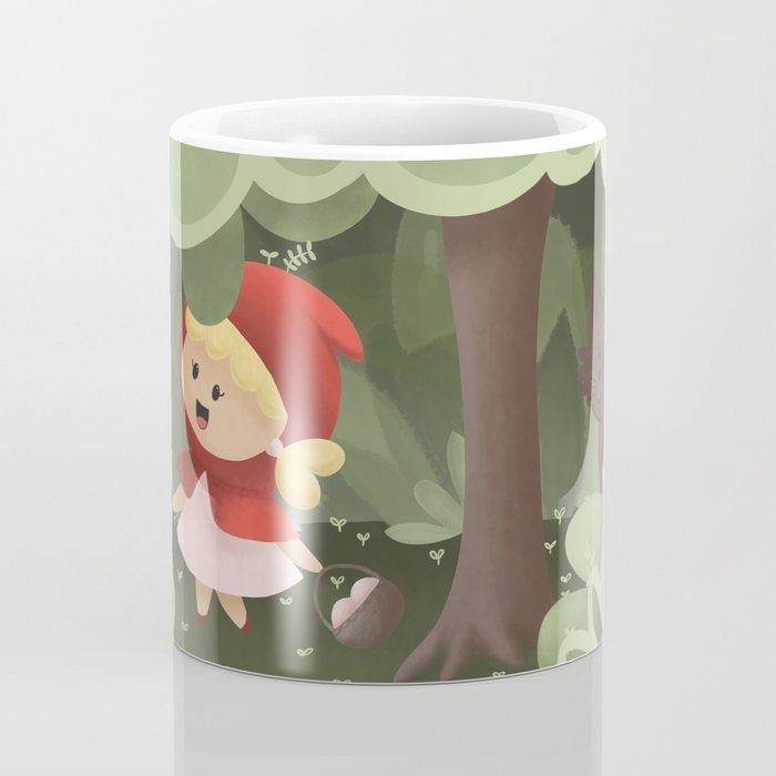 Little red ridding hood Coffee Mug