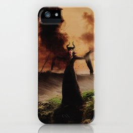 Maleficent 2 iPhone Case