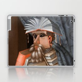 The Librarian - Giuseppe Arcimboldo Laptop & iPad Skin