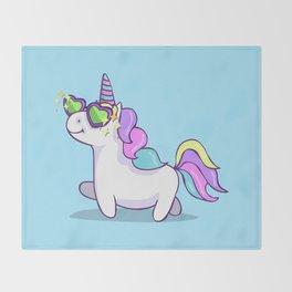Fabulous Unicorn Throw Blanket