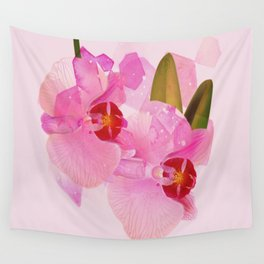 broken orchid Wall Tapestry