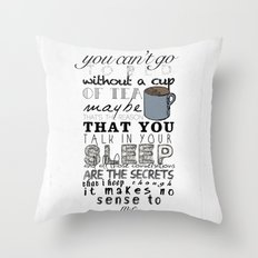 One Direction: Little Things Throw Pillow