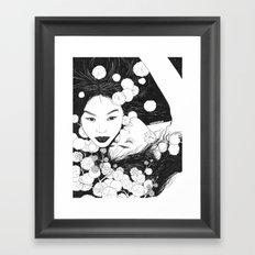 Secret Love Framed Art Print