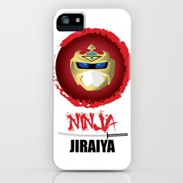 Jiraiya, The Incredible Ninja iPhone Case