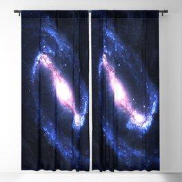 Barred Spiral Galaxy Blackout Curtain
